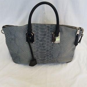 London Fog faux snakeskin purse